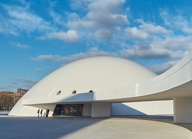 Centro Niemeyer detalle