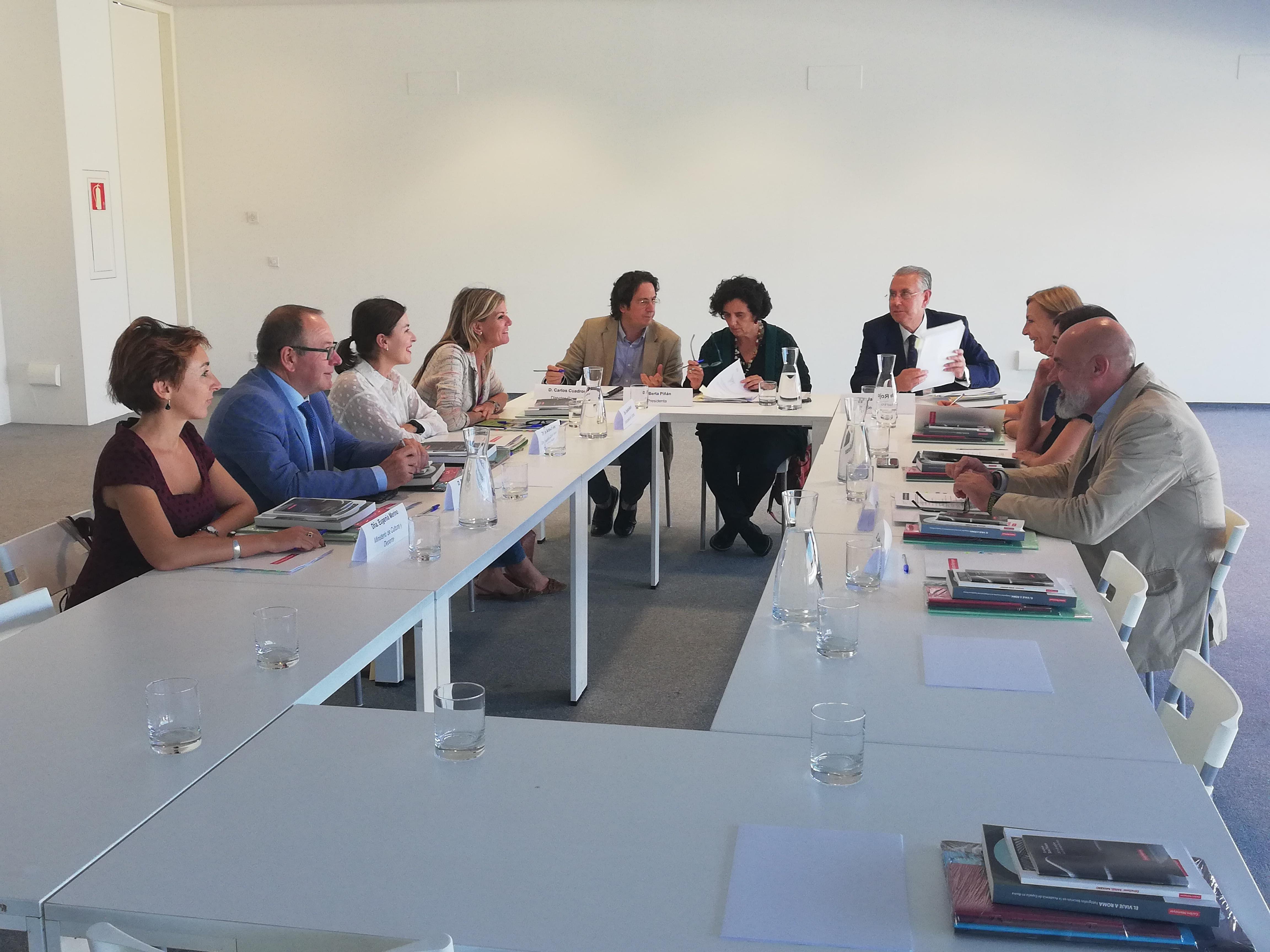 Nueva composición del patronato  de la Fundación Centro Niemeyer