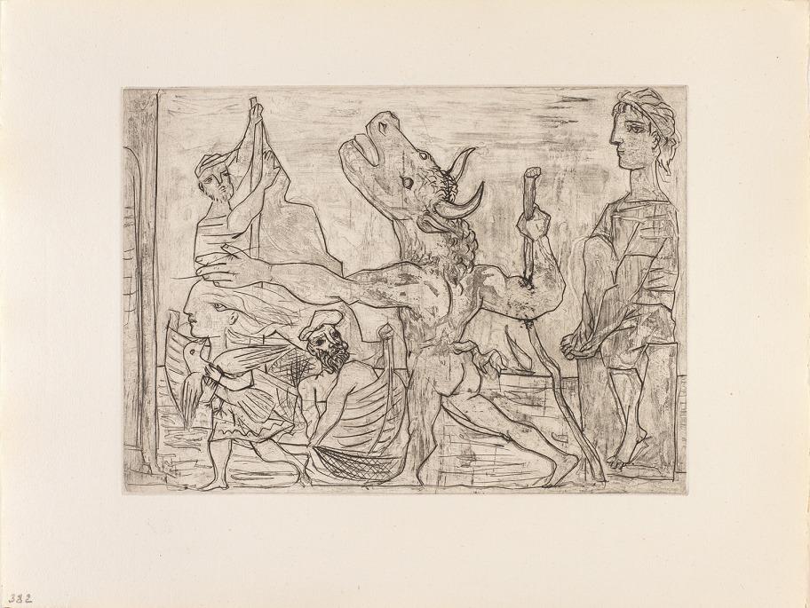 «Picasso. Grabados eternos», la nueva gran exposición del Centro Niemeyer, a punto de abrir sus puertas