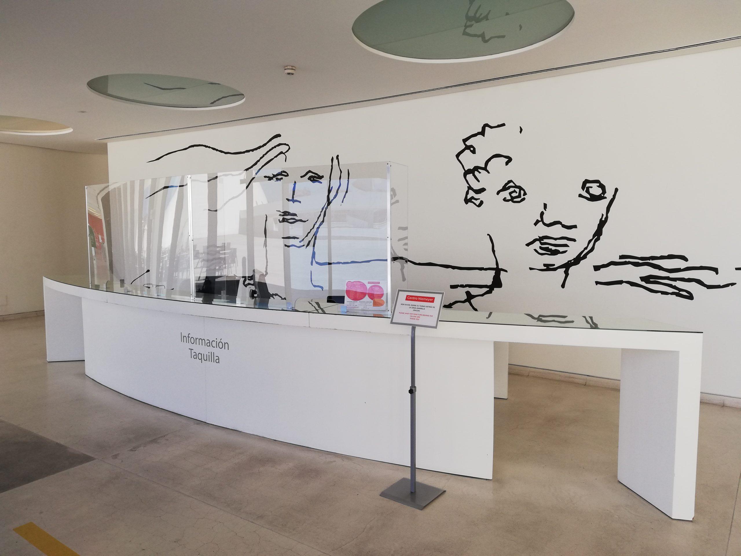 El Centro Niemeyer recupera la atención presencial al público para la devolución de entradas