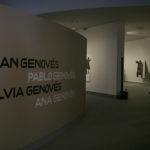 Entrada a la exposición de Juan Genovés e hijos en el Centro Niemeyer