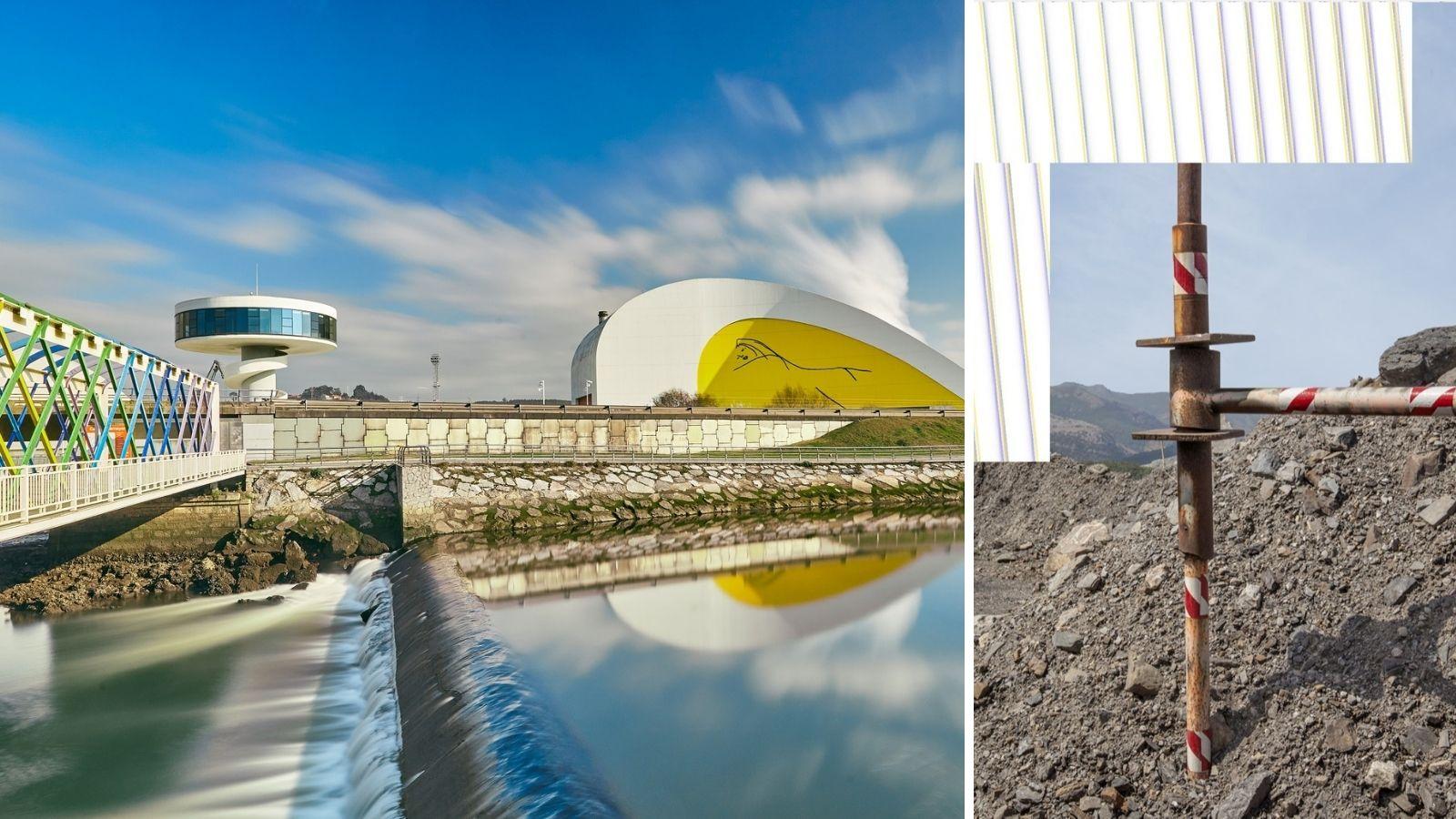 Dos nuevas exposiciones del Centro Niemeyer: el arte contemporáneo de AlNorte y una nueva itinerancia en el concejo de Valdés