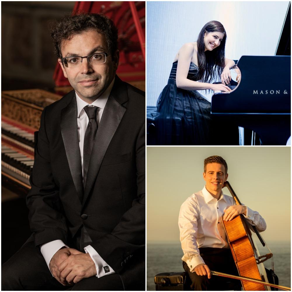 Música de piano, clave y violonchelo en el regreso de los conciertos del ciclo Suena la Cúpula
