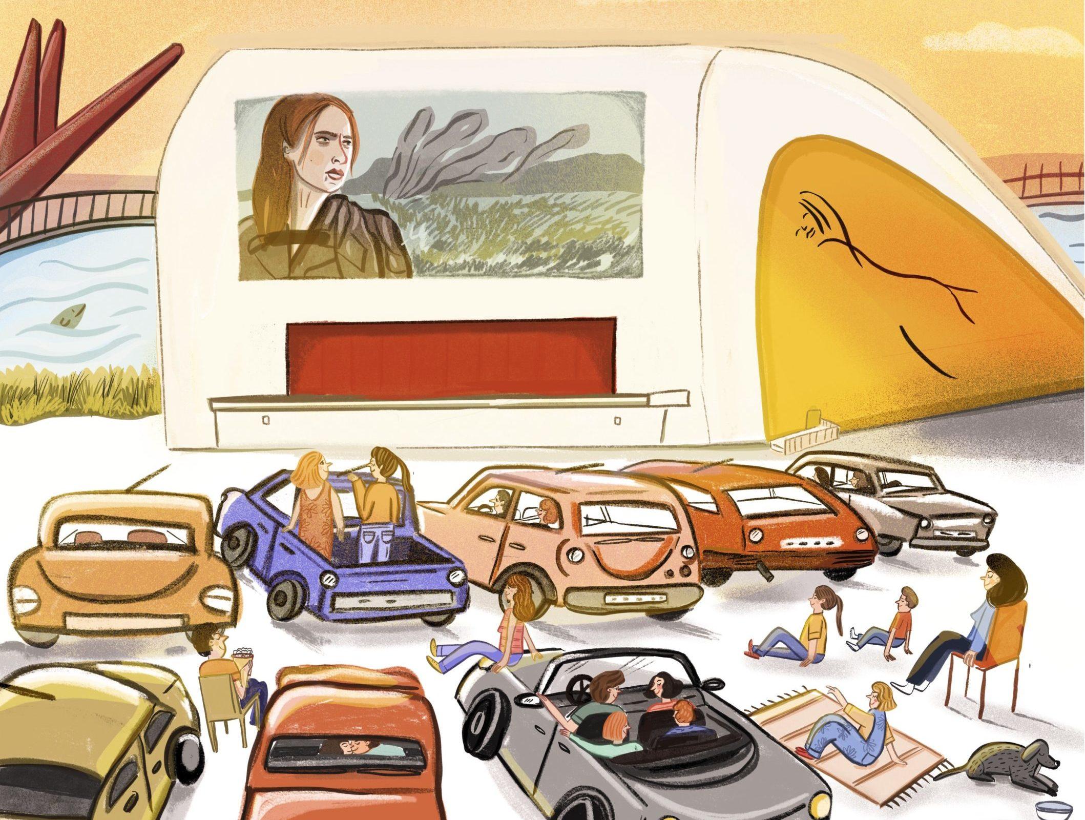 El autocine regresa al Centro Niemeyer en septiembre con ocho películas taquilleras