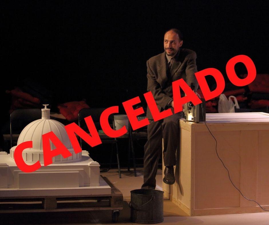 """Cancelación de la obra de teatro off """"Speer"""""""